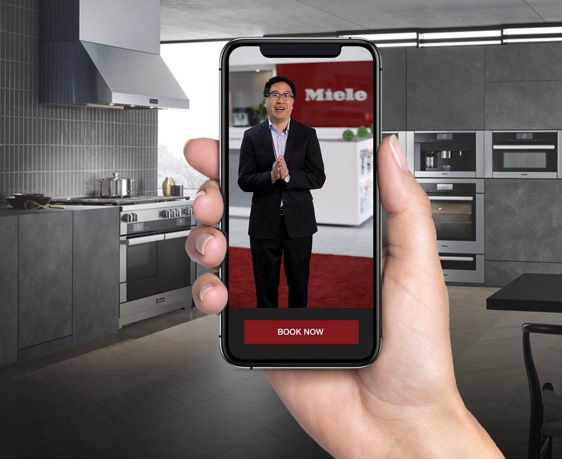 Miele Live Video Header